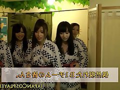 Group Sex, Handjob, Japanese
