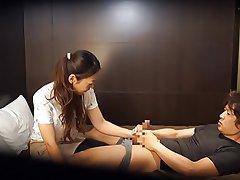 CFNM, Handjob, Japanese, Massage, MILF