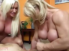 Face Sitting, Big Tits, Threesome