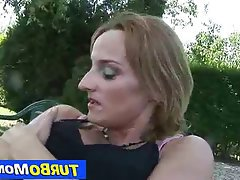 Mature, MILF, Redhead, Old and Young, Blowjob